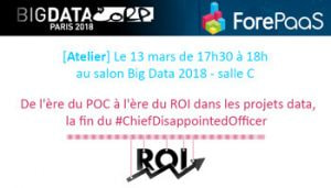 [Atelier] Salon Big Data Paris 2018