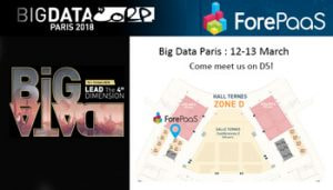 ForePaaS-stand-D5- big-data-paris-2018